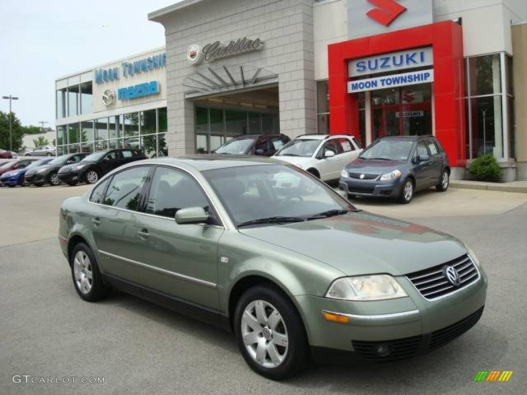 VW vw passat 2001 : 2001 Fresco Green Metallic Volkswagen Passat GLX V6 4Motion Sedan ...