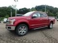 Ruby Red - F150 Lariat SuperCrew 4x4 Photo No. 6