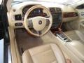2007 Jaguar XK Caramel Interior Dashboard Photo