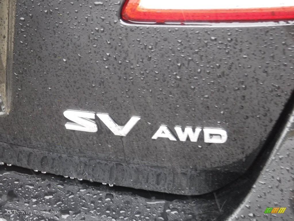 2011 Murano SV AWD - Super Black / Black photo #9
