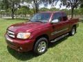 2005 Salsa Red Pearl Toyota Tundra SR5 Access Cab #128662046