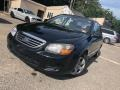 Ebony Black 2009 Kia Spectra EX Sedan