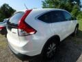 2013 White Diamond Pearl Honda CR-V EX AWD  photo #4