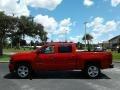Red Hot - Silverado 1500 Custom Crew Cab 4x4 Photo No. 2