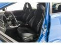 Carbon Black/Hyper Blue Front Seat Photo for 2016 Subaru WRX #128684985