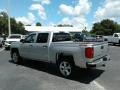 Silver Ice Metallic - Silverado 1500 Custom Crew Cab 4x4 Photo No. 3