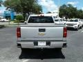 Silver Ice Metallic - Silverado 1500 Custom Crew Cab 4x4 Photo No. 4