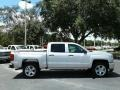 Silver Ice Metallic - Silverado 1500 Custom Crew Cab 4x4 Photo No. 6