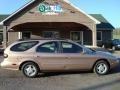 1996 Light Saddle Metallic Ford Taurus GL Wagon #12861128