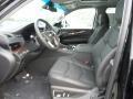Front Seat of 2019 Escalade Premium Luxury 4WD