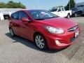 Boston Red 2012 Hyundai Accent SE 5 Door