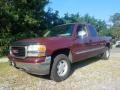 Dark Toreador Red Metallic 2001 GMC Sierra 1500 SLE Extended Cab 4x4