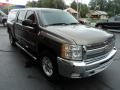 2013 Mocha Steel Metallic Chevrolet Silverado 1500 LT Crew Cab 4x4  photo #5