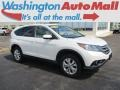 White Diamond Pearl 2012 Honda CR-V EX 4WD