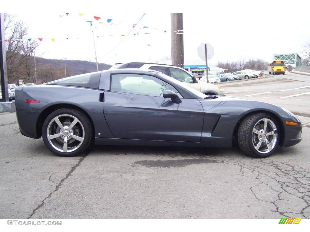2009 cyber gray metallic chevrolet corvette coupe. Black Bedroom Furniture Sets. Home Design Ideas