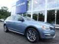Mussel Blue Metallic 2018 Volvo V60 Cross Country T5 AWD
