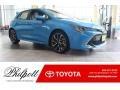 Blue Flame 2019 Toyota Corolla Hatchback XSE