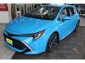 Front 3/4 View of 2019 Corolla Hatchback XSE