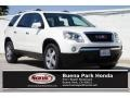 White Diamond Tintcoat 2011 GMC Acadia SLT