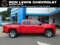 Red Hot - Silverado 1500 Custom Crew Cab 4x4 Photo No. 1