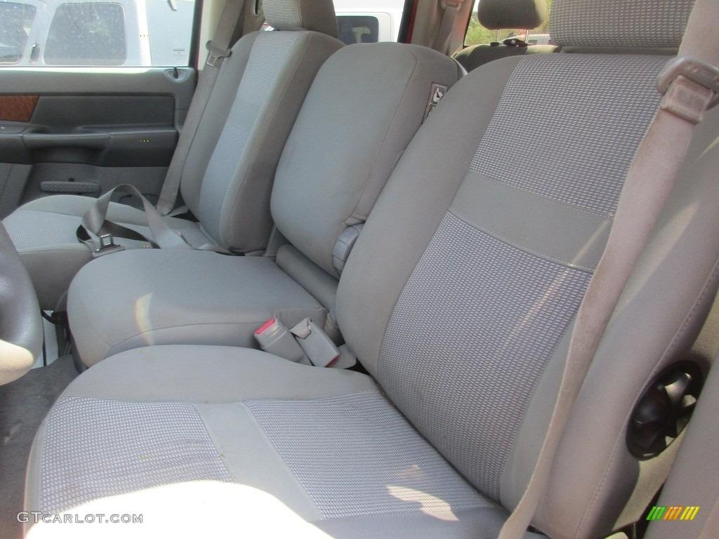 2006 Ram 1500 SLT Quad Cab 4x4 - Flame Red / Medium Slate Gray photo #8