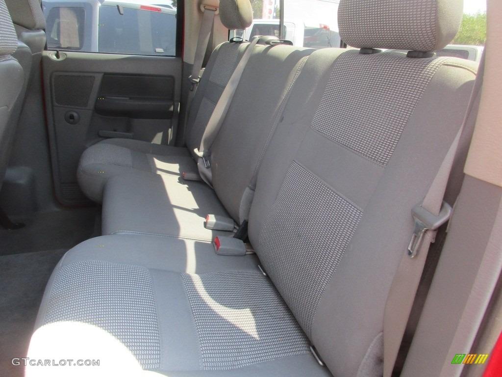 2006 Ram 1500 SLT Quad Cab 4x4 - Flame Red / Medium Slate Gray photo #9