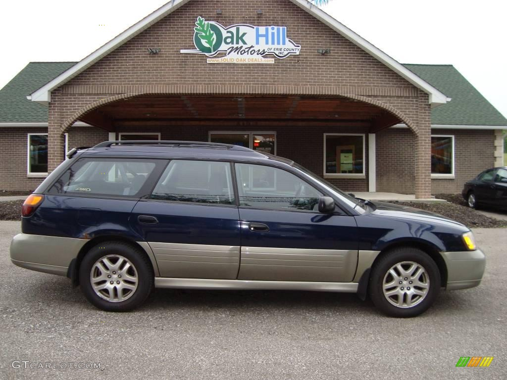 2000 dark blue pearl subaru outback wagon 12861141. Black Bedroom Furniture Sets. Home Design Ideas
