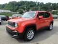 2018 Omaha Orange Jeep Renegade Latitude 4x4  photo #1