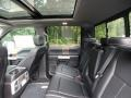 Rear Seat of 2018 F150 Lariat SuperCrew 4x4