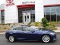 Deep Blue Metallic - Model S 75D Photo No. 2