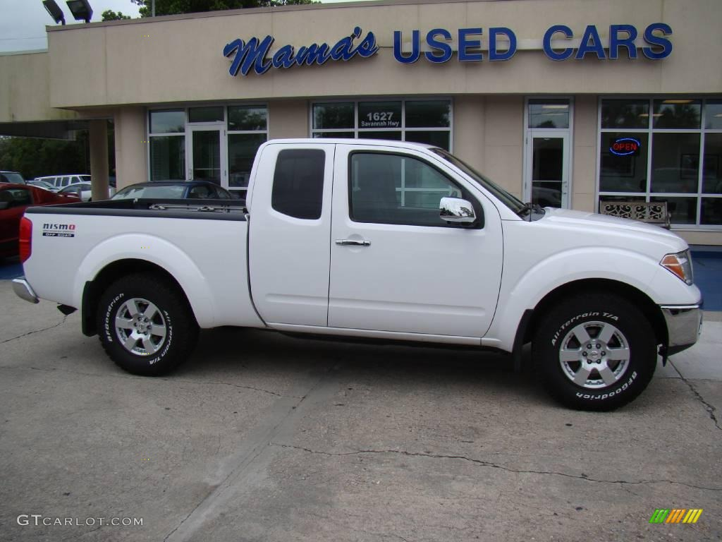 2006 Avalanche White Nissan Frontier NISMO King Cab #12857652 ...