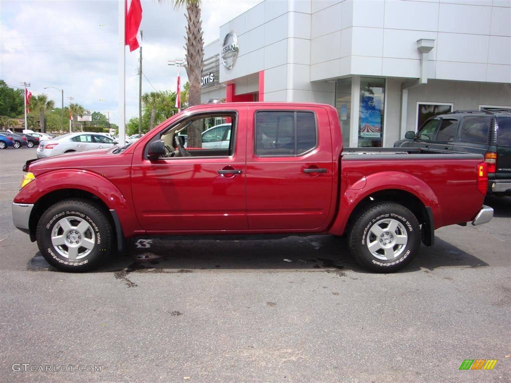 2008 red brawn nissan frontier se crew cab 4x4 12856536. Black Bedroom Furniture Sets. Home Design Ideas