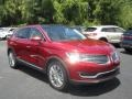 Ruby Red Metallic 2018 Lincoln MKX Reserve
