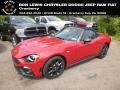 Red - 124 Spider Abarth Roadster Photo No. 1