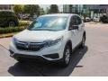 2015 White Diamond Pearl Honda CR-V LX AWD  photo #3