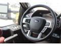2019 Ford F250 Super Duty Dark Marsala Interior Steering Wheel Photo