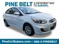 Century White 2016 Hyundai Accent SE Sedan