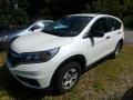 2015 White Diamond Pearl Honda CR-V LX AWD  photo #1