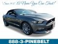 2017 Magnetic Ford Mustang GT Premium Convertible #129070640