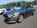 2017 Magnetic Ford Mustang GT Premium Convertible  photo #3