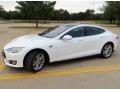 White 2013 Tesla Model S