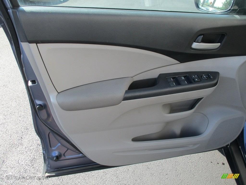 2014 CR-V LX AWD - Twilight Blue Metallic / Gray photo #10