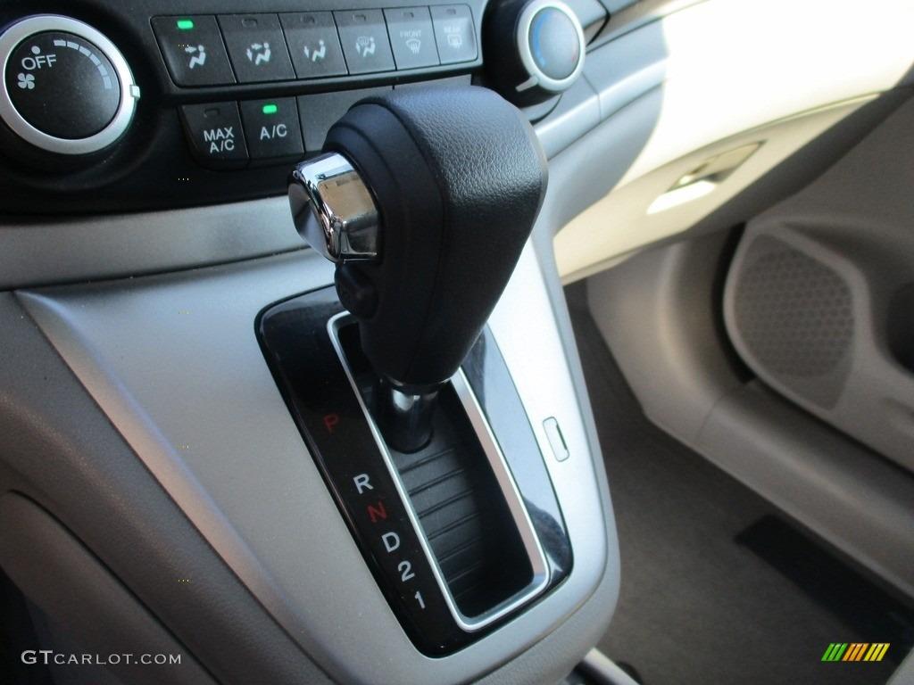 2014 CR-V LX AWD - Twilight Blue Metallic / Gray photo #14