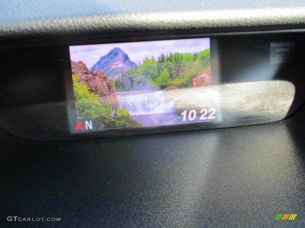 2014 CR-V LX AWD - Twilight Blue Metallic / Gray photo #15