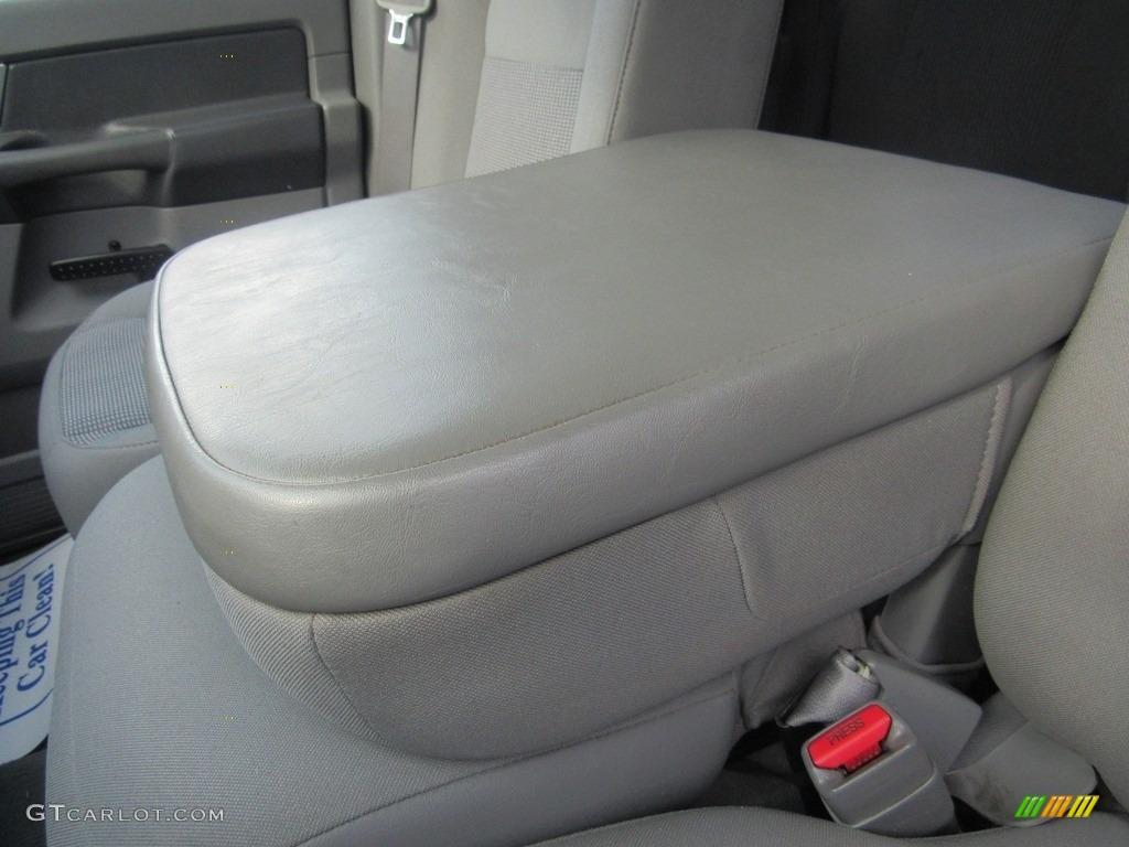 2008 Ram 1500 SLT Quad Cab - Brilliant Black Crystal Pearl / Medium Slate Gray photo #23