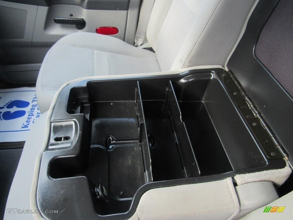 2008 Ram 1500 SLT Quad Cab - Brilliant Black Crystal Pearl / Medium Slate Gray photo #24