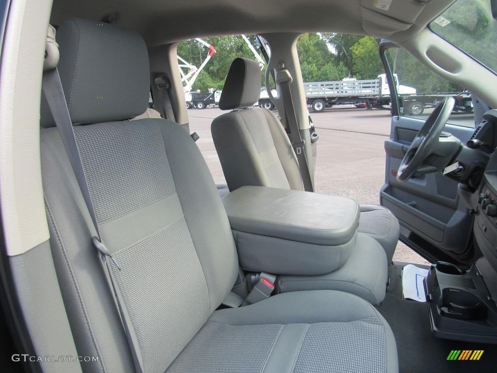 2008 Ram 1500 SLT Quad Cab - Brilliant Black Crystal Pearl / Medium Slate Gray photo #28