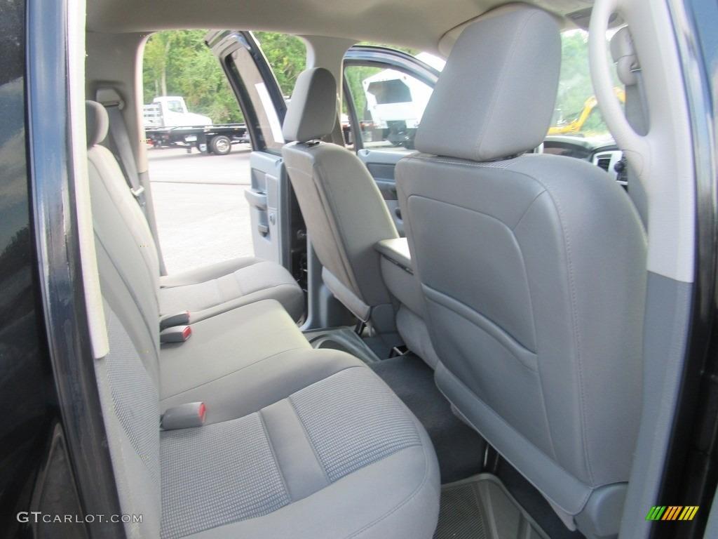 2008 Ram 1500 SLT Quad Cab - Brilliant Black Crystal Pearl / Medium Slate Gray photo #32