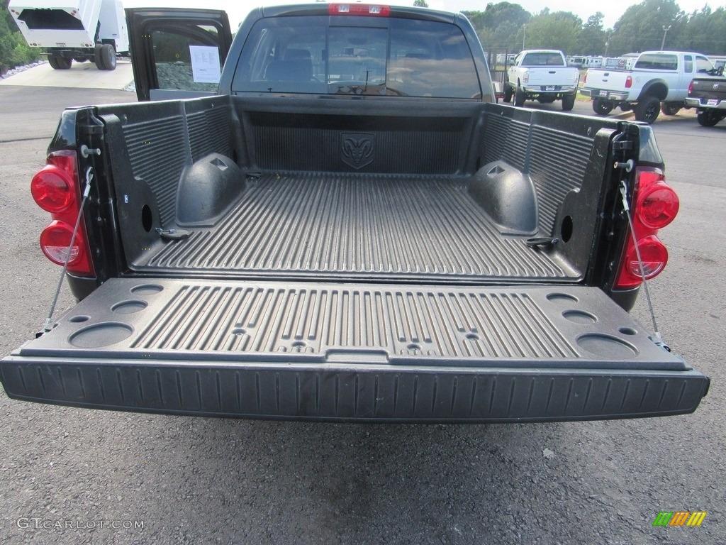 2008 Ram 1500 SLT Quad Cab - Brilliant Black Crystal Pearl / Medium Slate Gray photo #36