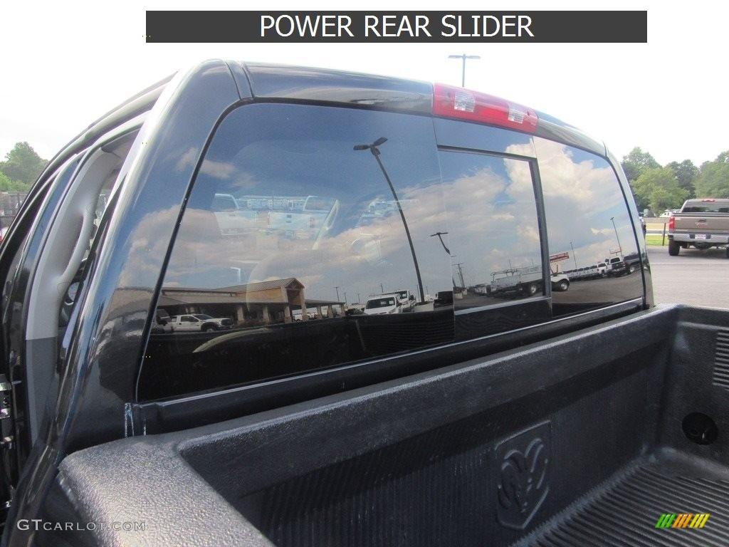 2008 Ram 1500 SLT Quad Cab - Brilliant Black Crystal Pearl / Medium Slate Gray photo #37